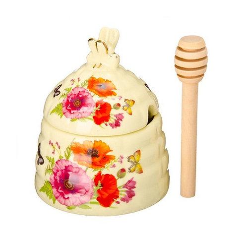 Баночка с деревянной ложкой «Эвита»