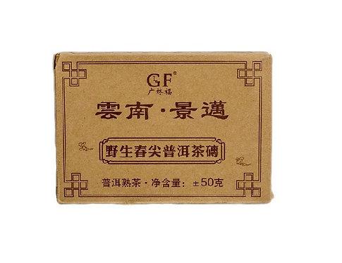 Чай пуэр Шу, плитка 50 г