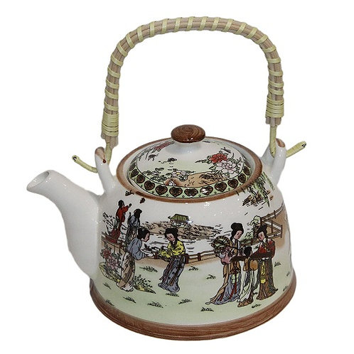 Чайник с заварочным ситом « Гейша»