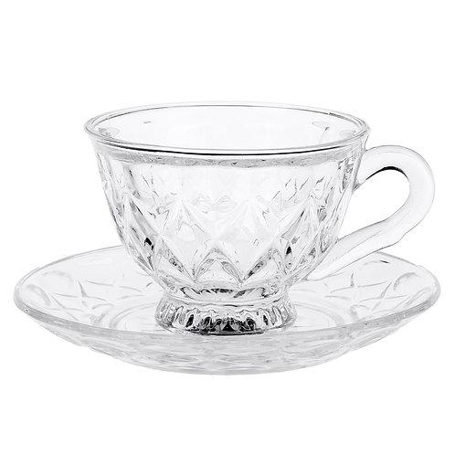 Чашка с блюдцем «Лидия», 200 мл