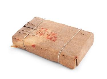 Шу пуэр в бамбуке кирпич (250г)