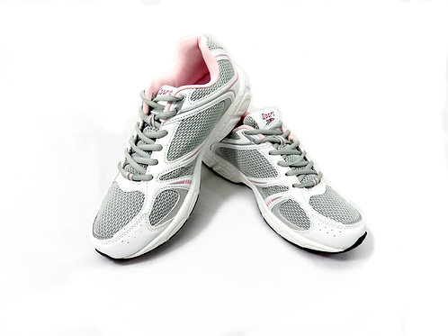 Women's Sport Runners/Joggers in White and Pink