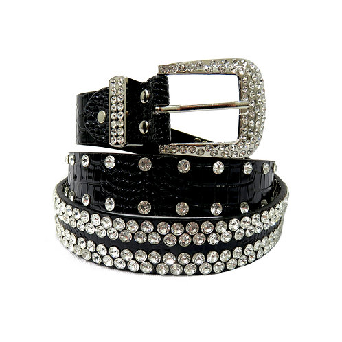 Women's Sparkle Bling Belt
