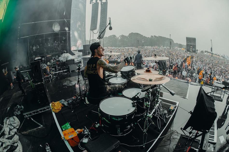 Sum 41 at Leeds Festival