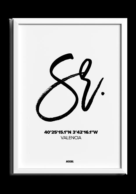 SR. (Personalizable)