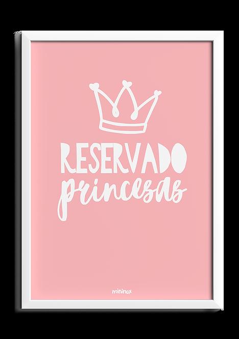 RESERVADO PRINCESAS