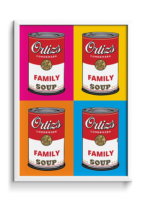 POP ART Campbell´s Soup