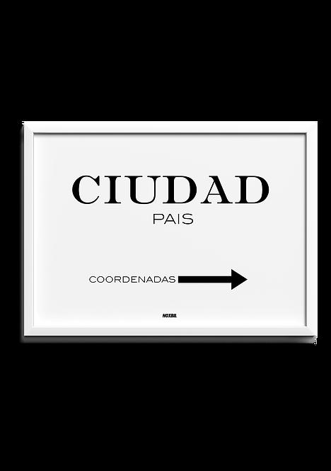 CIUDAD (Personalizable)