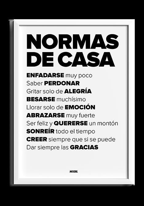 NORMAS DE LA CASA