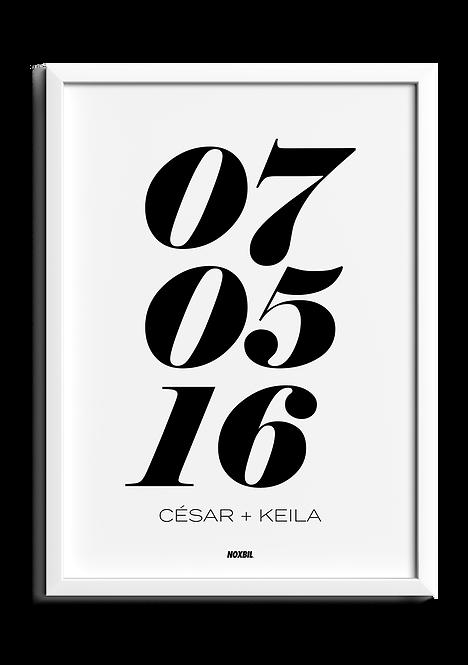 FECHA (Personalizable)