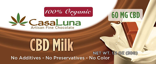 CasaLuna CBD Chocolate 60 mg
