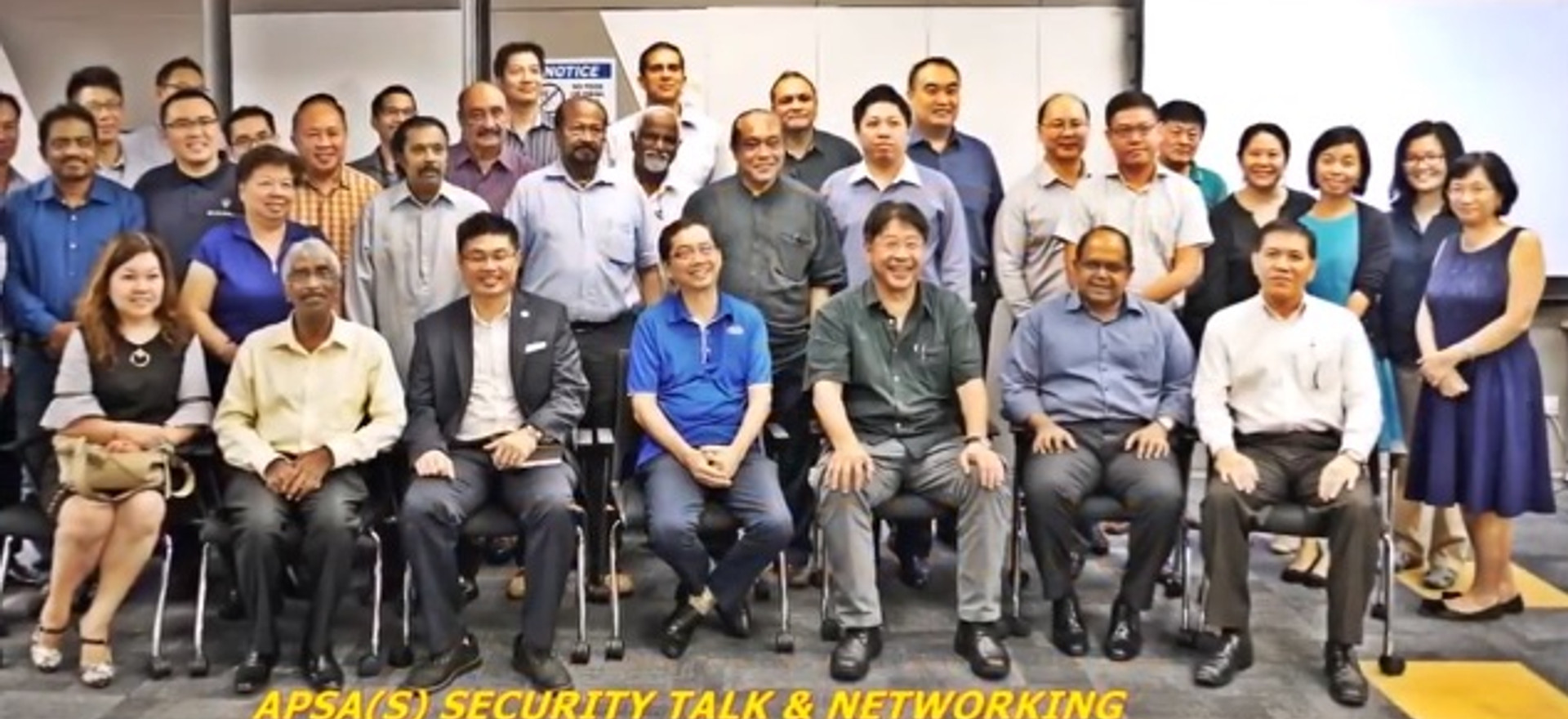 APSA SECURITY TALK AND NETWOKING 2017