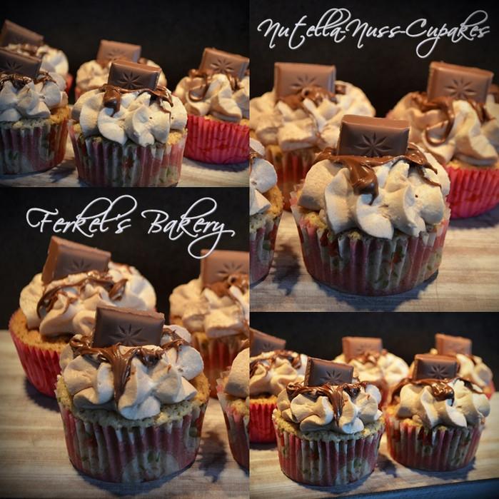 ♦ Haselnuss-Nutella-Cupcakes♥ ♦