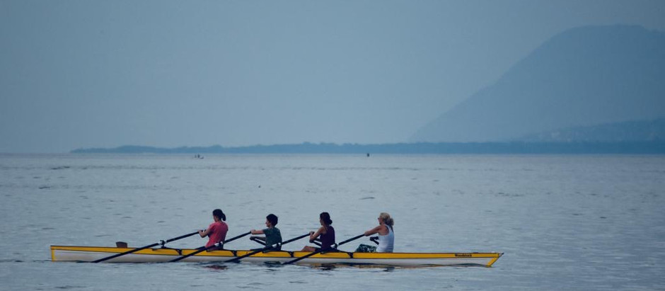Glisser sur l'eau du Lac Léman