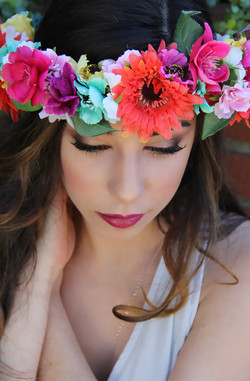 Boho Hair and Makeup