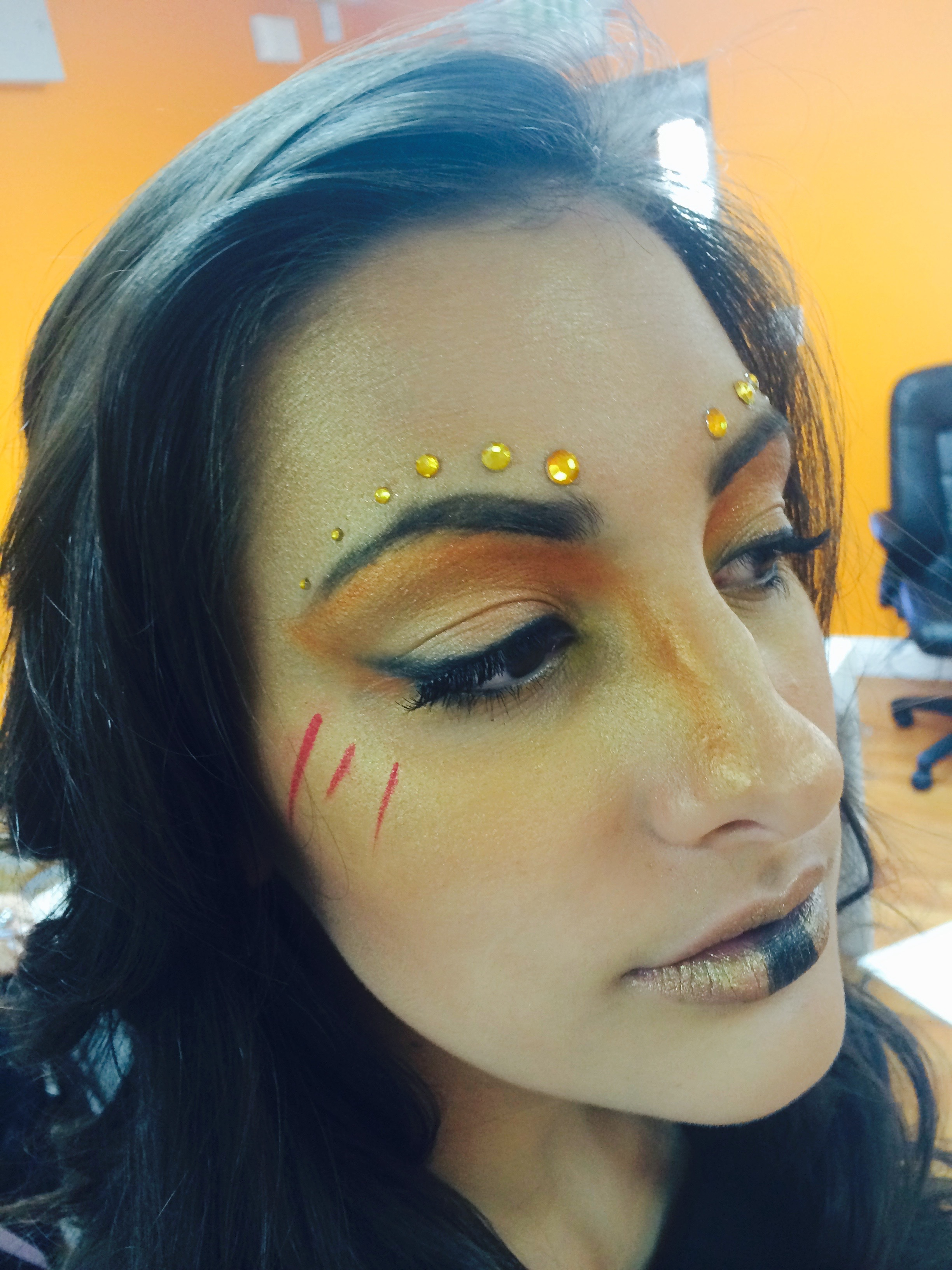 Warrior Makeup