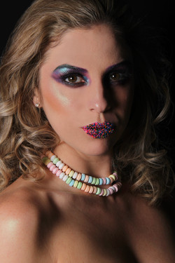 Colorful Candy Makeup