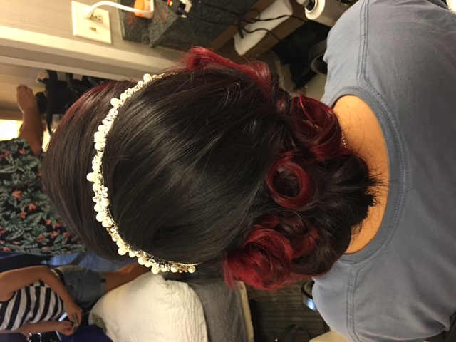 Pinup Bridal Hair