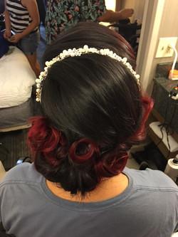 Pinup Bridal Hair