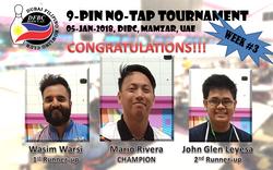 DFBC No-Tap Tour (2018-01-05) week3
