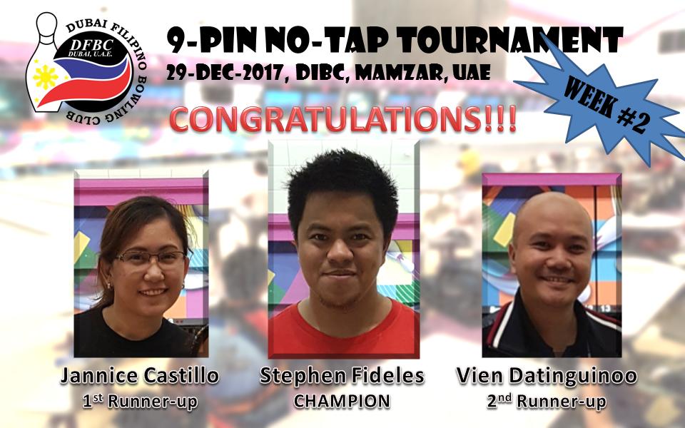 DFBC No-Tap Tour (2017-12-29)