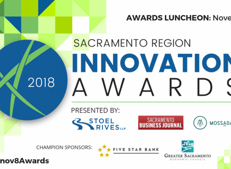 Sacramento Region Innovation Awards: Promotional Toolkit 2018 Finalists