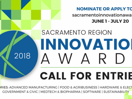 Sacramento Region Innovation Awards: Promotional Toolkit 2018