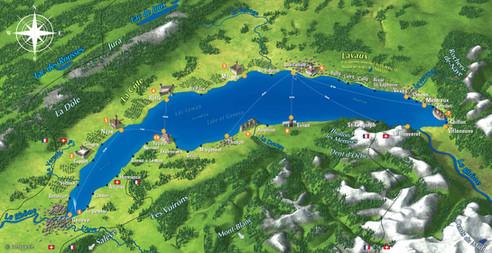 cgn compagnie générale navigation tourisme vaud Switzerland lac Léman Geneva lake