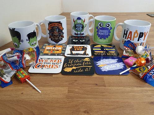 Choose Your Halloween Mug & Coaster Combination