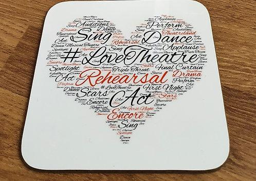 Love Theatre Coaster