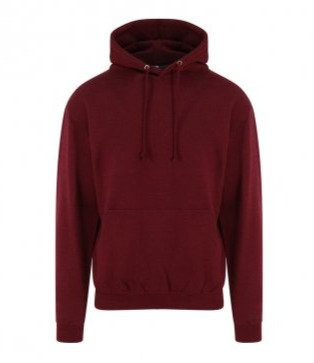 UNISEX ADULT COLOURED HOODY