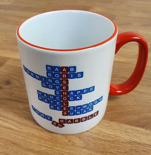 Tory Scrabble Mug