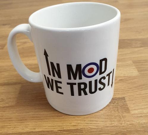 In MOD We Trust Mug