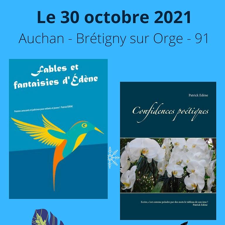 Dédicace : Patrick ÉDÈNE - Auteur poésie