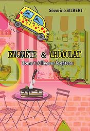 COUVERTURE ENQUETE ET CHOCOLAT - Livre 1