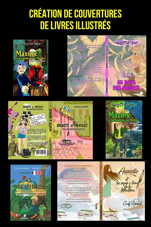 Couverture de livre - Illustrée