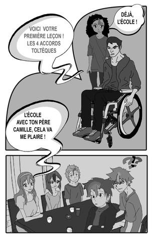 Leçon de Serge- les 4 accords toltèques.