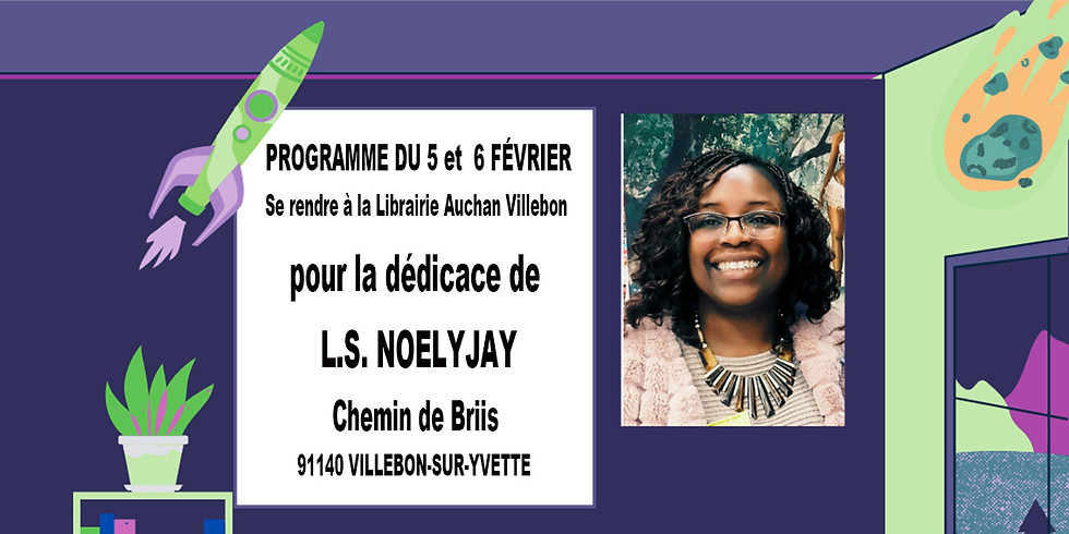 Dédicace de l'auteure L.S. NOELYJAY