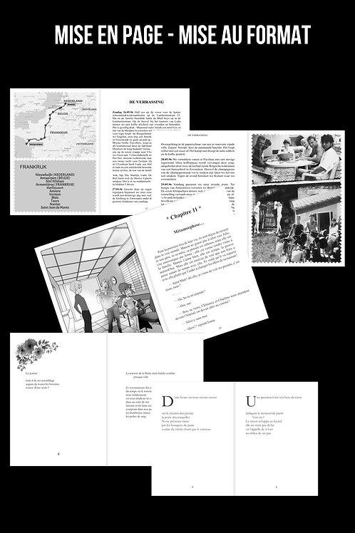 Mise en page - Mise au format