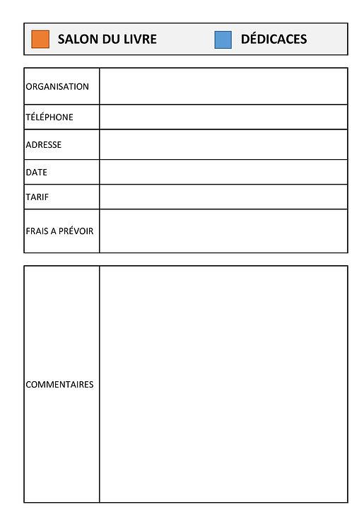 KIT AUTEUR - plus de 100 pages de fiches utiles