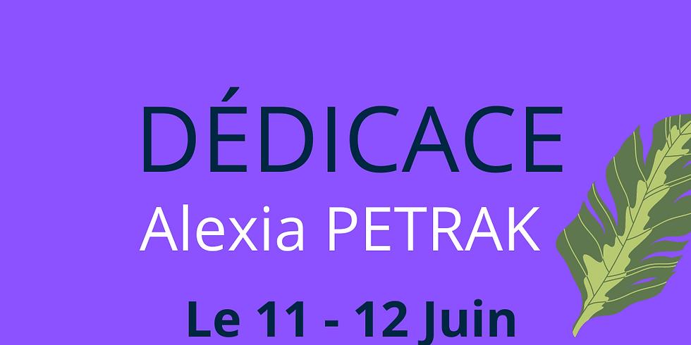 Dédicace : Alexia PETRAK - Auteure Fantastique - Romance