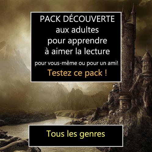 BOX DÉCOUVERTE - POUR AIMER LA LECTURE