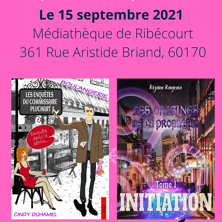 Dédicace : Cindy Duhamel & Réjane Rageau