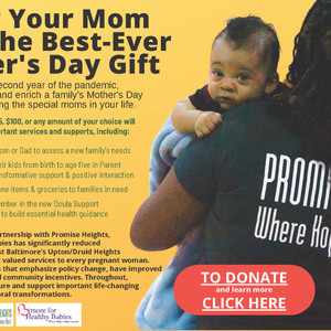Honor Your Mom: Donate to B'more for Healthy Babies for Mother's Day