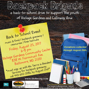 You're Invited! Vintage Gardens Annual Back to School Celebration