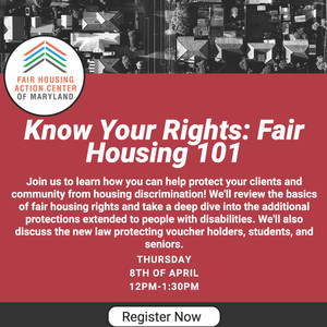 Know Your Rights: Fair Housing 101 Presentation