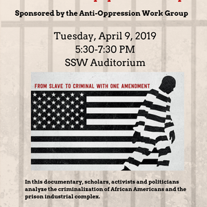"Screening of Ava Duvernay's Documentary ""13th"""