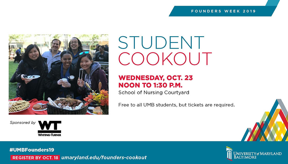 student cookout graphic