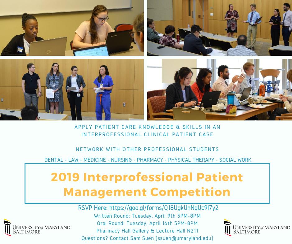 Inter-professional Patient Management Competition