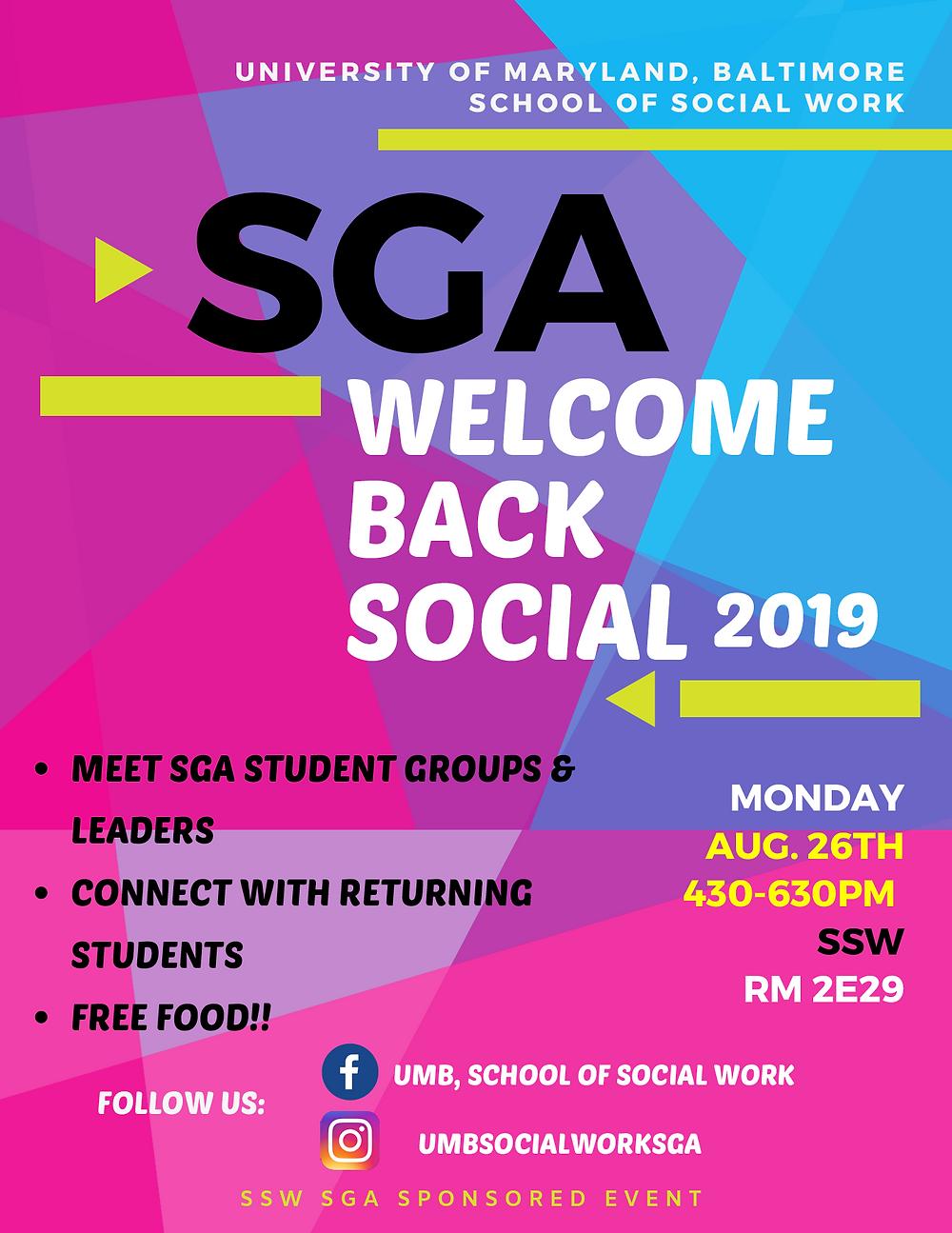 sga social poster